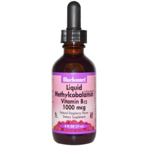 Bluebonnet Liquid Methylcobalamin Vitamin B12 59ml Supplement