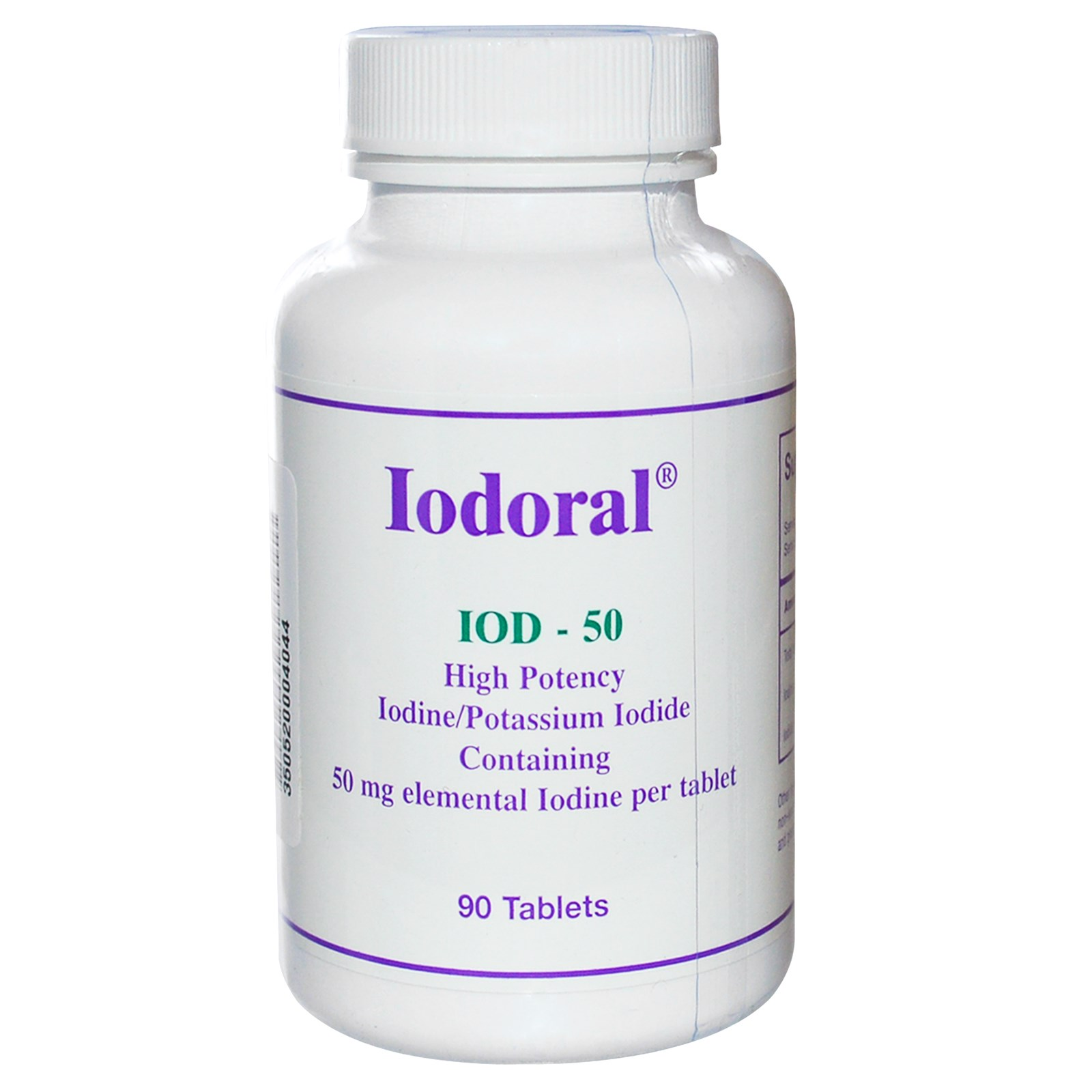 Optimox Iodoral 50mg 90 Tablets