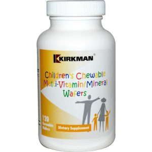 Buy Best Kirkman Children's Chewable Multi-Vitamin-Mineral Wafers Supplement in India from VitSupp Healthcare