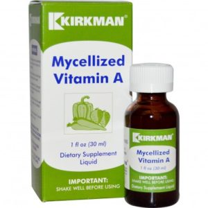 Buy Best Kirkman Mycellized Vitamin A Supplement in India from VitSupp