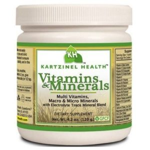 Kartzinel Multi-Vitamins Multi Minerals Supplement