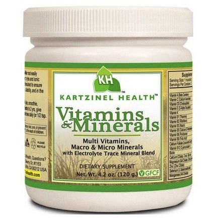 Kartzinel Multi-Vitamins Multi Minerals Supplement
