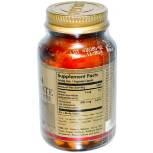 Buy Best Solgar Chromium Polynicotinate Supplement in India from VitSupp Healthcare 2