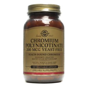 Buy Best Solgar Chromium Polynicotinate Supplement in India from VitSupp Healthcare