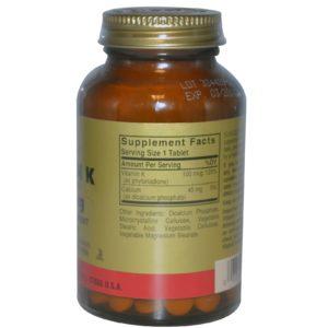 Buy Best Solgar Vitamin K Supplement in India from VitSupp 2