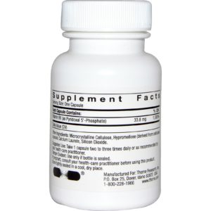 Buy Best Thorne Vitamin B6 P5P Supplement in India from VitSupp