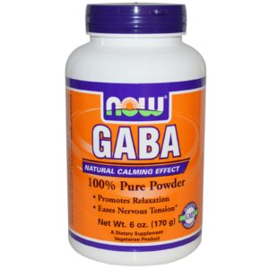 Now GABA Powder 170g Supplement