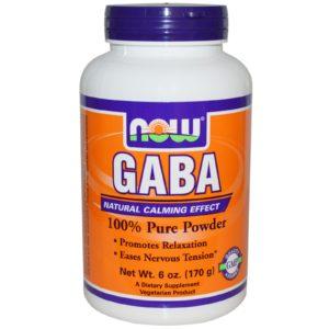 Now GABA Powder 170g Supplement