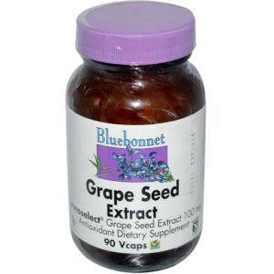 Bluebonnet Grape Seed Extract 100 mg 90 Vcaps in india from VitSupp