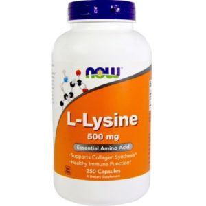 Buy Best Now L-Lysine Amino Acid Supplement in India