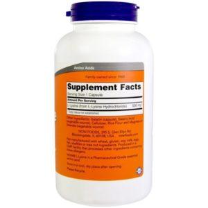 Buy Best Now L-Lysine Amino Acid Supplement in India