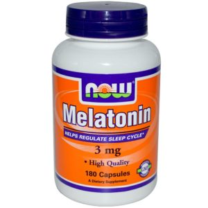 Buy best Now Melatonin 3 mg 180 Capsules in India from VitSupp