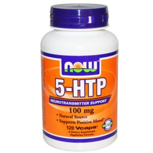 Now Foods 5-HTP 100 mg 120 Vcaps Supplement in India from VitSupp