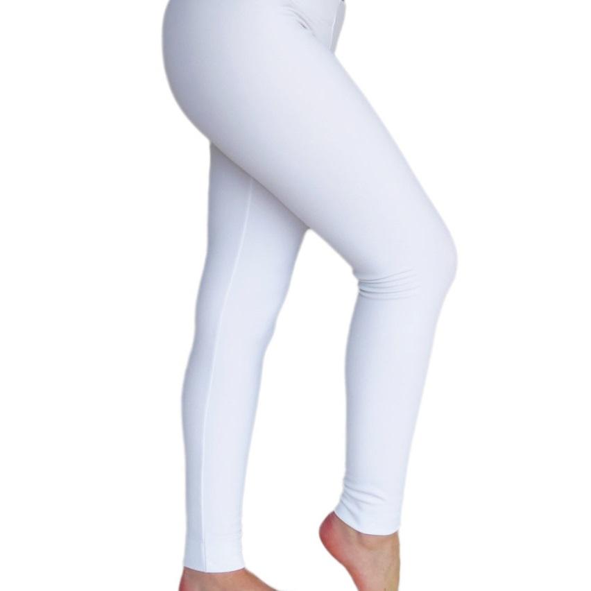 White Organic Leggings Super Soft 100 Organic Cotton Leggings