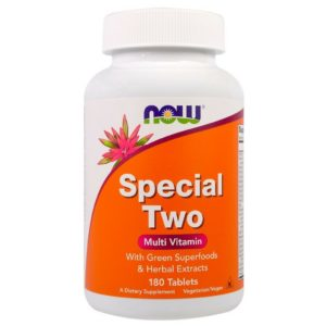 Now Foods Special Two Best Multivitamin Tablets in India 180 Tablets