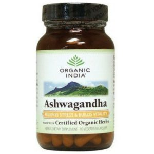 Organic India Ashwagandha 400 Mg -60 Capsules