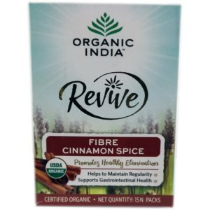 Organic India Revive Fibre Cinnamon Spice 15N Packs-120g