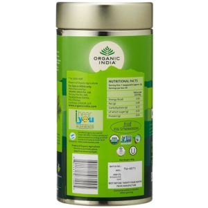 Organic India Tulsi Green Tea -100 gm-1