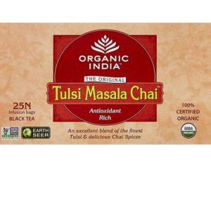 Organic India Tulsi Masala Tea - 25 Tea Bags-1