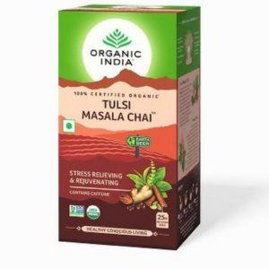 Organic India Tulsi Masala Tea - 25 Tea Bags