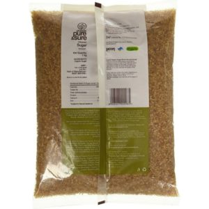 Pure & Sure Organic Brown Sugar-1kg-1
