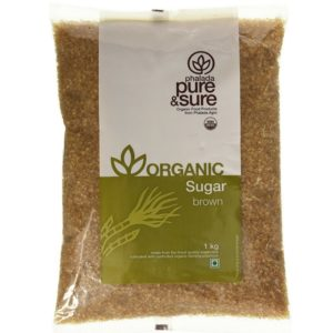 Pure & Sure Organic Brown Sugar-1kg