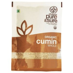 Pure & Sure Organic Whole Cumin-100g
