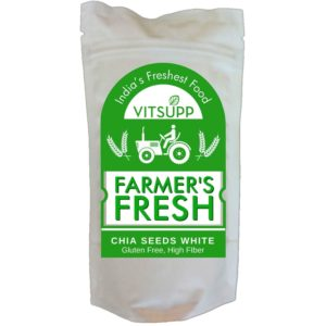 Farmer's Fresh Chia Seeds white